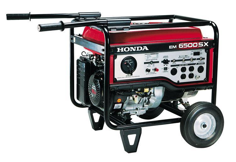 Em6500sxk2 at honda hhg em6500 sd honda em6500sx generator for Honda gx390 oil capacity