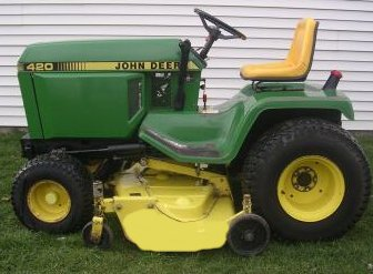 John Deere 420 Repower on