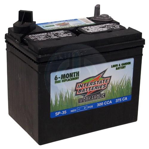Sp 35 Interstate Battery Mower Accessories Mower Batteries